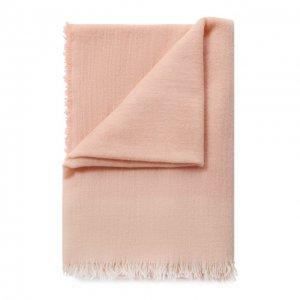 Кашемировый плед La Perla. Цвет: розовый