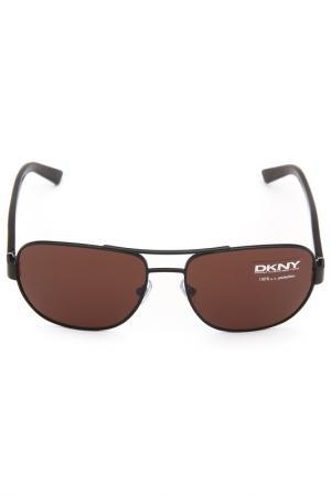 Очки солнцезащитные DKNY. Цвет: 100473