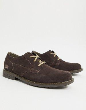 Коричневые туфли на шнуровке Caterpillar-Коричневый Cat Footwear