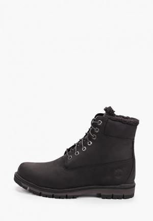 Тимберленды Timberland Radford Warm Lined Boot WP BLACK. Цвет: черный