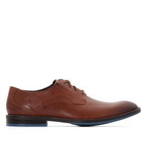 Ботинки-оксфорды кожаные Prangley Walk CLARKS. Цвет: каштан,черный