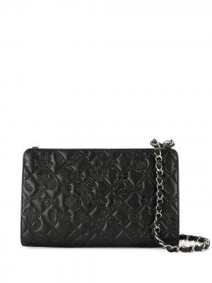 Стеганая сумка на плечо No.5 Icon Chanel Pre-Owned. Цвет: черный