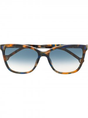 828 square-frame sunglasses Ch Carolina Herrera. Цвет: оранжевый