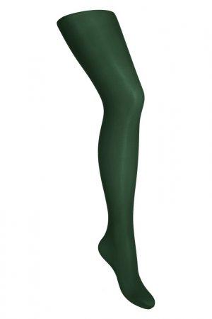 Колготки yula. Цвет: зеленый