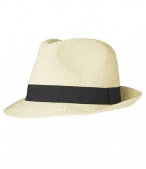 Соломенная Шляпа Atlas For Men. Цвет: бежевый