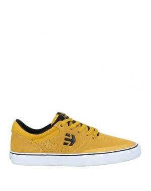 Кеды и кроссовки ETNIES. Цвет: желтый
