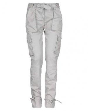 Повседневные брюки BETTY BLUE. Цвет: серый