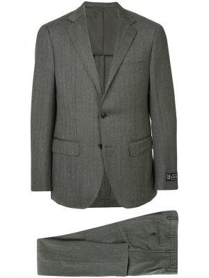 Классический строгий пиджак United Arrows. Цвет: серый