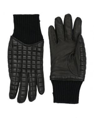 Перчатки FEDELI. Цвет: черный