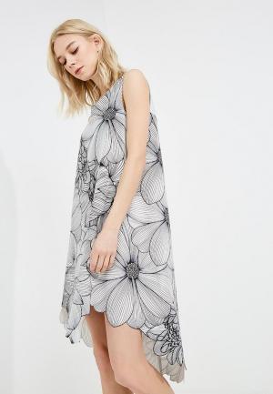 Платье Alessandro DellAcqua Dell'Acqua. Цвет: серый