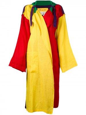 Легкое пальто свободного кроя JC de Castelbajac Pre-Owned. Цвет: разноцветный