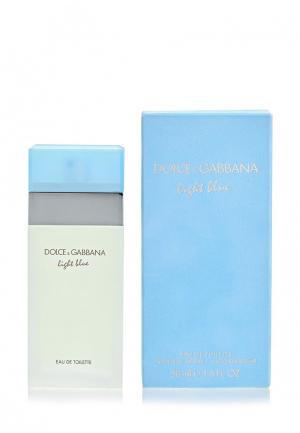 Туалетная вода Dolce&Gabbana Light blue 50 мл. Цвет: белый