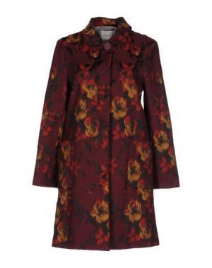 Пальто ...À_LA_FOIS.... Цвет: красно-коричневый
