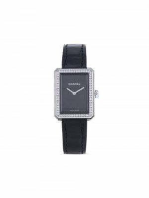 Наручные часы Boy-Friend pre-owned 26 мм 2020-го года Chanel. Цвет: черный