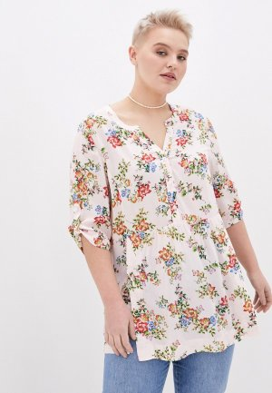 Блуза Varra. Цвет: бежевый