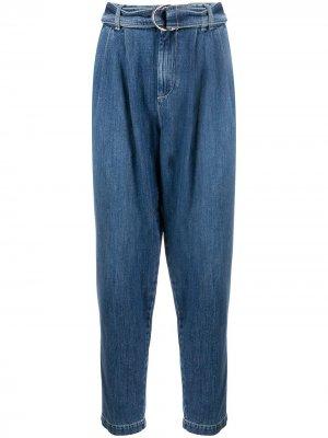 Зауженные джинсы P.A.R.O.S.H.. Цвет: синий