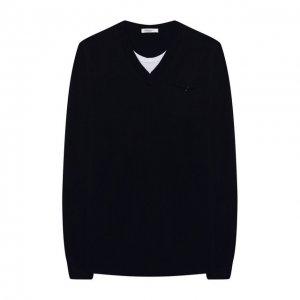Пуловер Paolo Pecora Milano. Цвет: синий