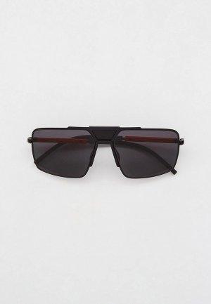 Очки солнцезащитные Prada Linea Rossa PS 52XS 1BO06L. Цвет: черный