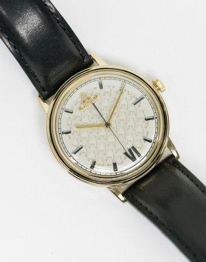 Наручные часы с черным ремешком Turnmill-Черный цвет Vivienne Westwood