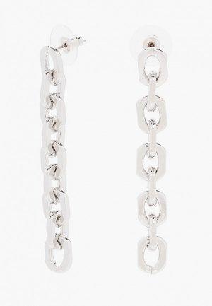Серьги Hatparad OVAL S. Цвет: серебряный