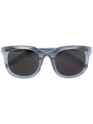 Солнцезащитные очки с квадратной оправой Han Kjøbenhavn. Цвет: серый