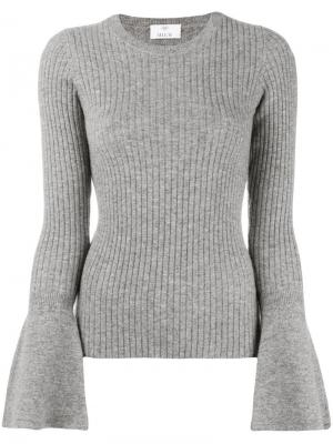 Wide sleeve jumper Allude. Цвет: серый