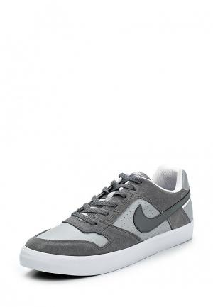 Кеды Nike Mens SB Delta Force Vulc Skateboarding Shoe. Цвет: серый