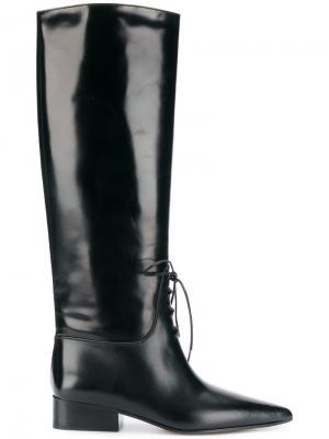 High boots Off-White. Цвет: черный