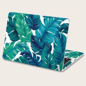 2 листа 15 дюймов наклейка для ноутбука с узором пальмового SHEIN. Цвет: многоцветный