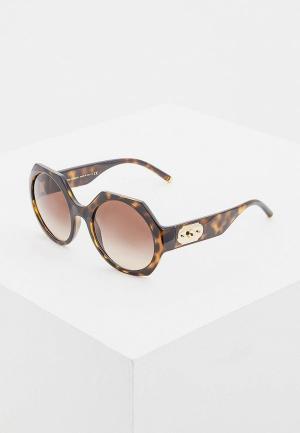 Очки солнцезащитные Dolce&Gabbana DG6120 502/13. Цвет: коричневый