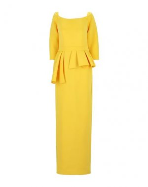 Длинное платье JOVANI. Цвет: желтый