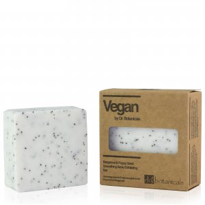Мыло-скраб для тела с семенами мака и бергамотом Bergamot & Poppy Seed Smoothing Body Exfoliating Bar Dr Botanicals