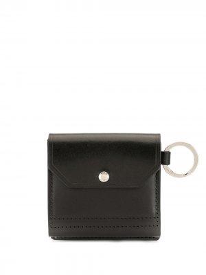 Маленький кошелек с откидным клапаном As2ov. Цвет: черный