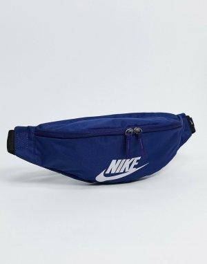 Темно-синяя сумка-кошелек на пояс Heritage-Темно-синий Nike