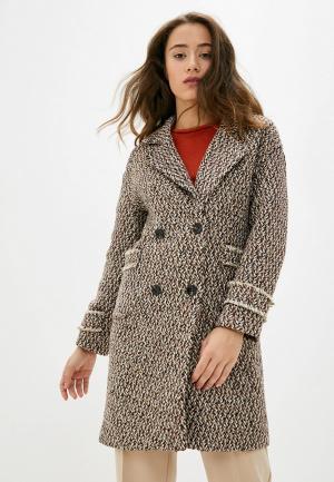 Пальто Allegri. Цвет: коричневый