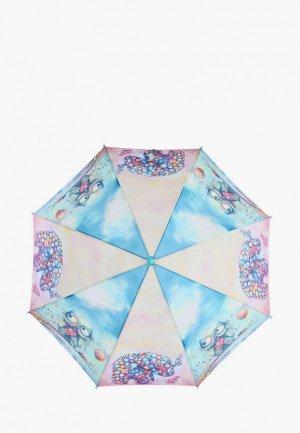 Зонт-трость Lamberti. Цвет: разноцветный