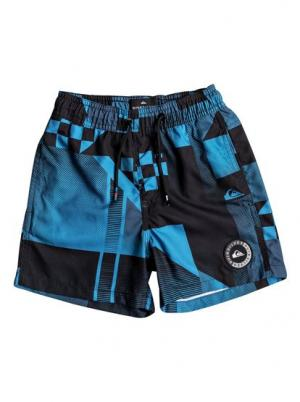 Пляжные шорты Checker 12 - Синий Quiksilver. Цвет: синий
