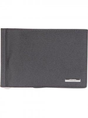 Classic bill fold wallet Fendi. Цвет: коричневый