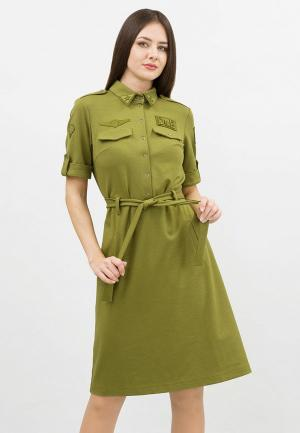 Платье Doctor E. Цвет: хаки