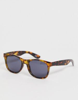 Солнцезащитные очки в черепаховой оправе Spicoli 4-Коричневый Vans