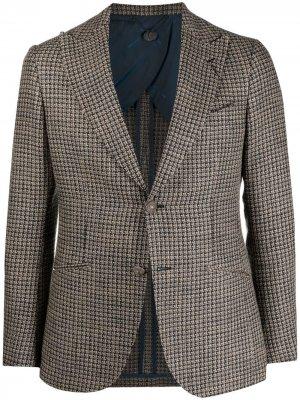Однобортный пиджак Keanu Maurizio Miri. Цвет: нейтральные цвета