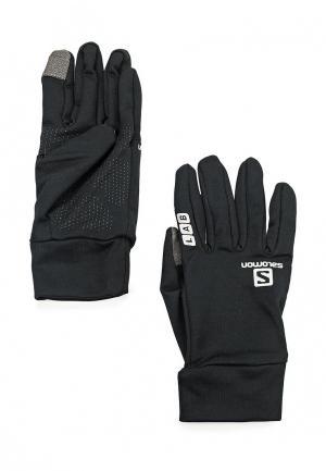 Перчатки Salomon SA007DUPRO89. Цвет: черный