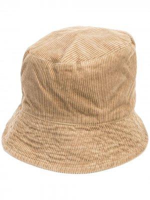 Вельветовая панама Engineered Garments. Цвет: коричневый