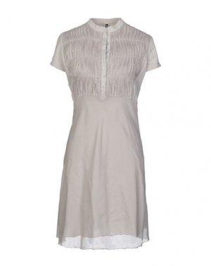 Платье до колена EUROPEAN CULTURE. Цвет: бежевый
