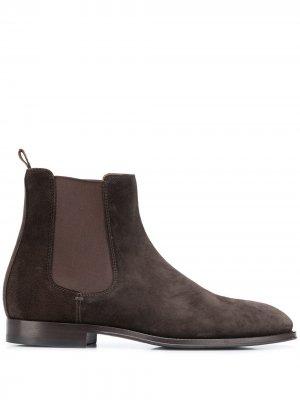 Ботинки челси Brunello Cucinelli. Цвет: коричневый