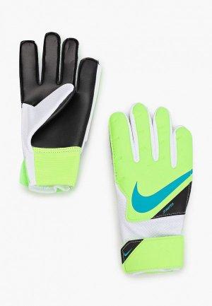 Перчатки вратарские Nike NK GK MATCH JR - FA20. Цвет: зеленый