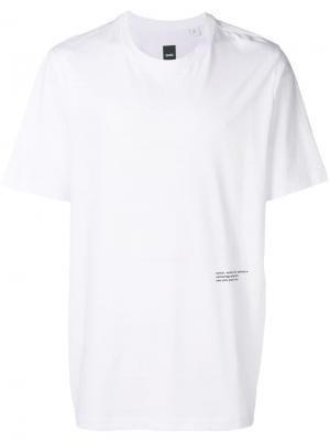 Однотонная футболка OAMC