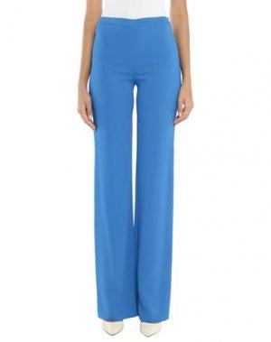 Повседневные брюки EMILIO PUCCI. Цвет: ярко-синий