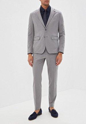 Костюм классический Tommy Hilfiger Tailored. Цвет: серый