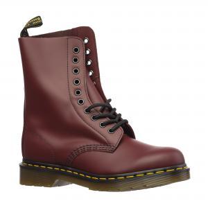 Ботинки 1490 Dr.Martens. Цвет: бордовый, черный